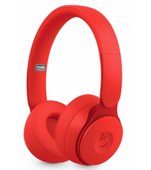 Beats Solo Pro Wireless Noise Canceling Headphones More Matte Collection Red