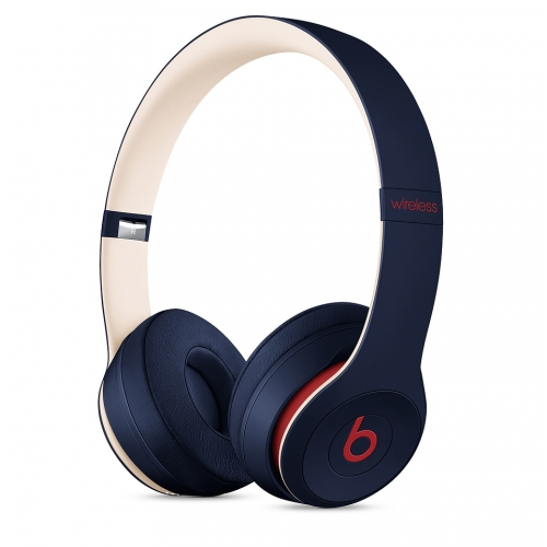 Beats Solo3 Wireless On-Ear Headphones Club Collection Club Navy