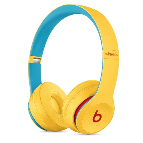 Beats Solo3 Wireless On-Ear Headphones Club Collection Club Yellow