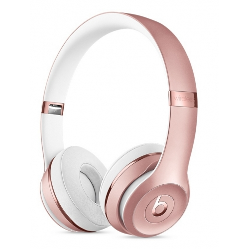 Beats Solo3 Wireless On-Ear Headphones Rose Gold