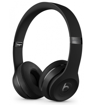 Beats Solo3 Wireless On-Ear Headphones The Beats Icon Collection Black