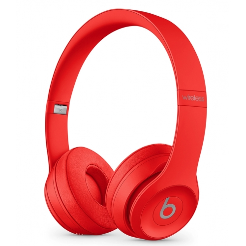 Beats Solo3 Wireless On-Ear Headphones The Beats Icon Collection Red