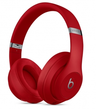 Beats Studio3 Wireless Over - Ear Headphones Red