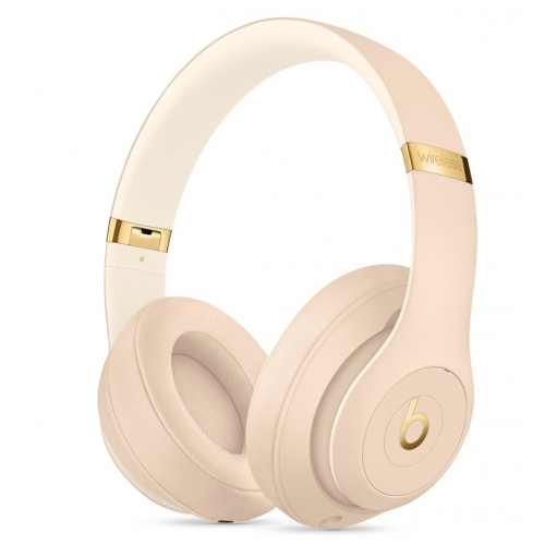 Beats Studio3 Wireless Over - Ear Headphones The Beats Skyline Collection Desert Sand