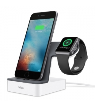 Belkin Valet Charge Dock for iPhone and Apple Watch White