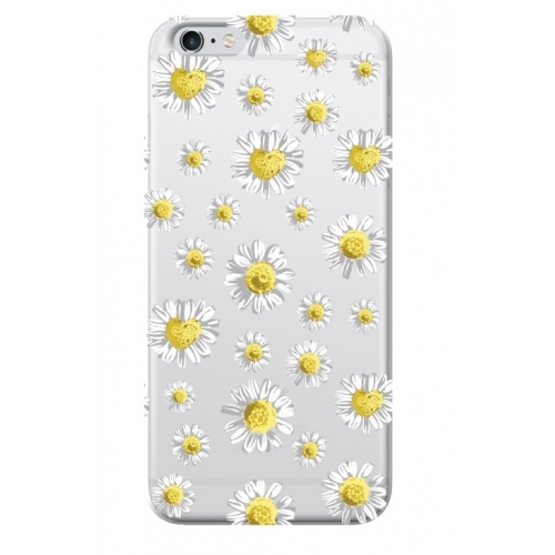 Benjamins Soft Case iPhone 6/6s Daisy