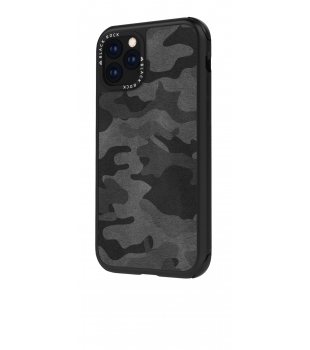 Black Rock Robust Case Real Lether Camo for iPhone 11 Pro Black