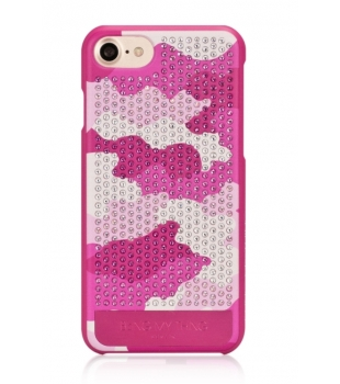 Bling My Thing Camouflage iPhone 8/7 Pink