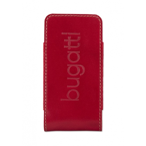 Bugatti Twin Leather Case pre iPhone Red