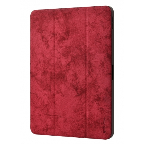 "Comma Swan Case with Pen holder iPad Pro 12.9"" Red (2018)"