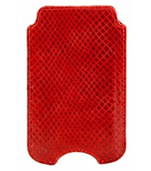 dbramante1928 Lizard Case for iPhone 4/4S Red