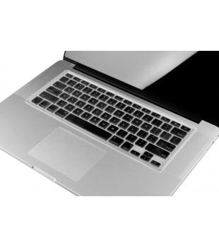 "Devia MB Air 13/Pro 13/15"" Retina/Wireless Keyboard Cover Transparent"
