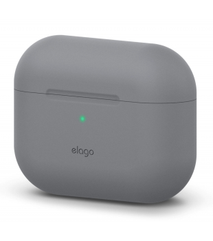 elago Airpods Pro Protective Silicone Case Medium Grey