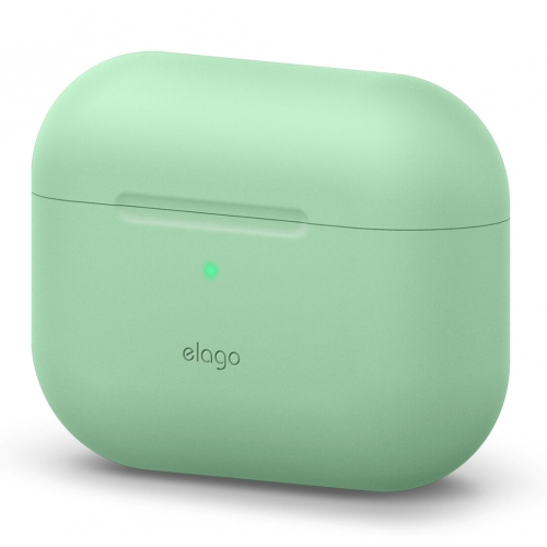 elago Airpods Pro Protective Silicone Case Pastel Green