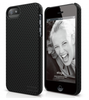 elago S5 Breathe Case iPhone 5/5S/SE Soft Black