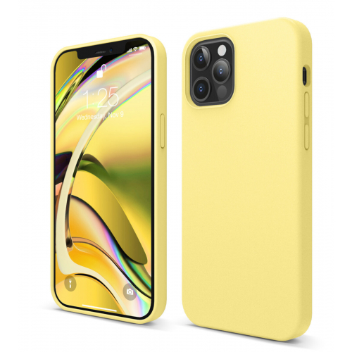 elago Silicone Case iPhone 12/12 Pro Yellow