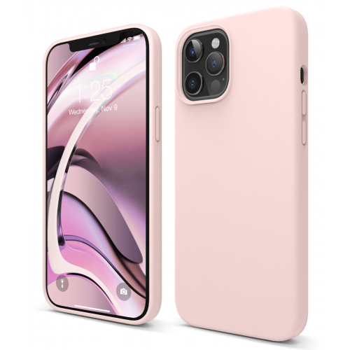 elago Silicone Case iPhone 12 Pro Max Lovely Pink