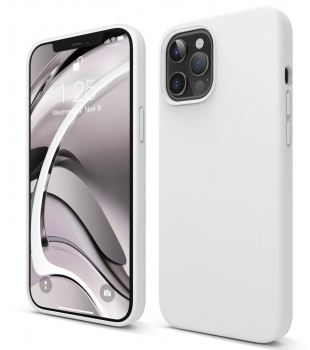 elago Silicone Case iPhone 12 Pro Max White