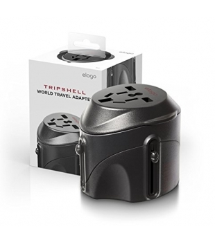 elago Tripshell World Travel Adapter