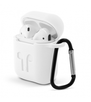 Epico AirPods Outdoor Cover White Transparent