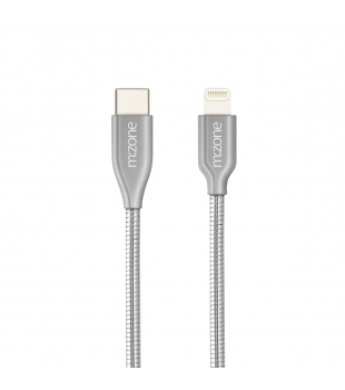 Epico USB-C to Lightning Metal Cable 1.2m Silver