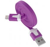 GT Lightning to USB cable purple