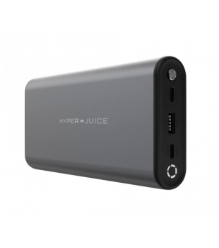 HYPER Juice 130W Dual USB-C PowerBank Space Grey
