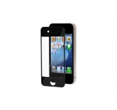 iVisor XT Clear iPhone 4/4S screen protector black