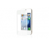 iVisor XT Clear iPhone 4/4S screen protector white