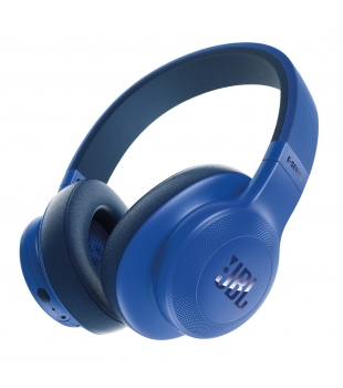 JBL E55BT Over-ear Headphones Blue