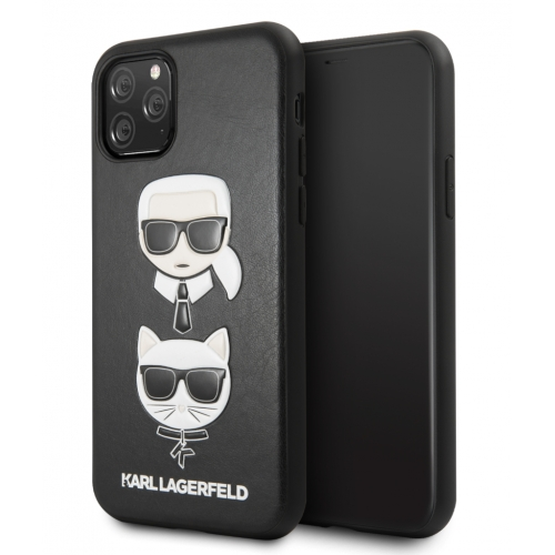 Karl Lagerfeld Karl & Choupette Case iPhone 11 Black
