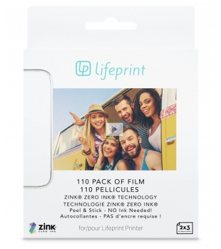 Lifeprint LifePrint 2x3 Film 110 Pack