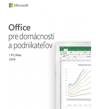 Microsoft Office Home and Business 2019 1PC/MAC Slovak