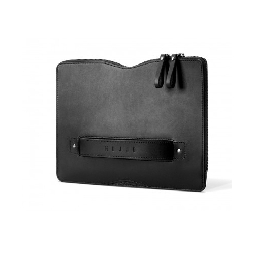 "MUJJO Carry-On Folio Sleeve for 12"" MacBook Black"