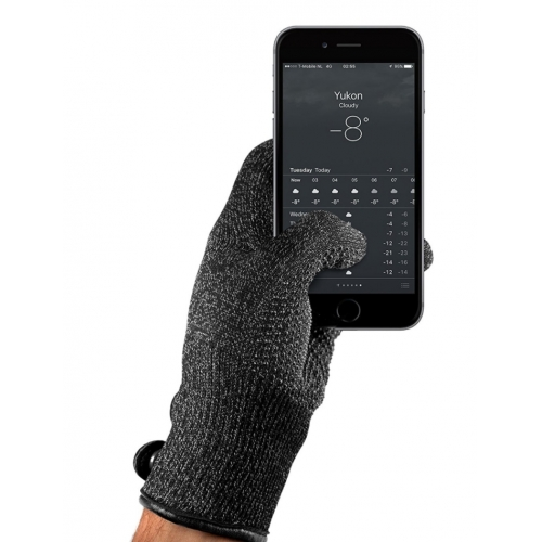 MUJJO Double-Layered Touchscreen Gloves M