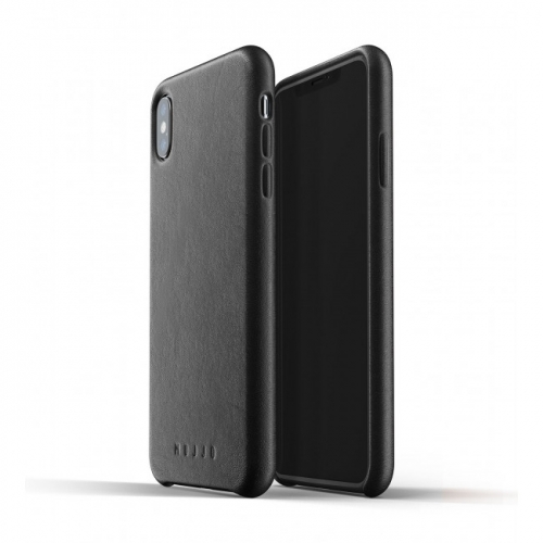 MUJJO Full Leather Case for iPhone XS Max Black