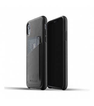 Obaly a púzdra iPhone Full Leather Wallet Case for iPhone XR Black ... be977130849