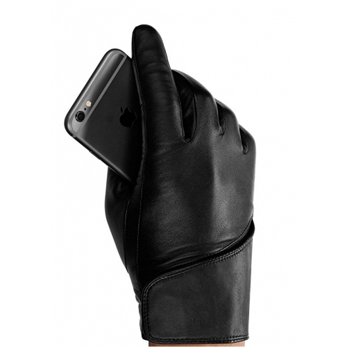 MUJJO Leather Touchscreen Gloves 8.5