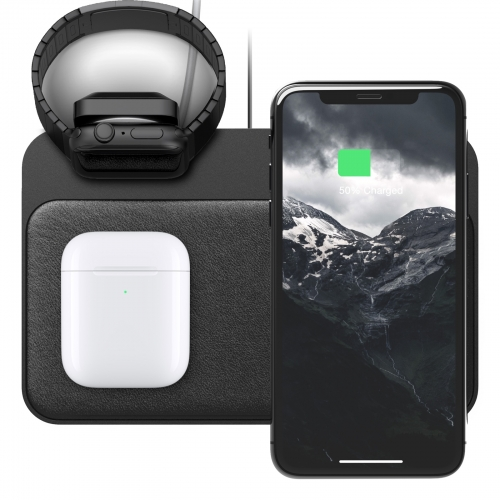 Nomad Base Station Apple Watch Stand Black