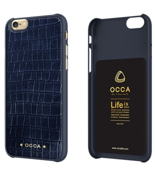 Occa Skin iPhone 6/6s Leather Navy
