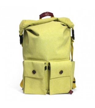 PKG DRI Rolltop Backpack Golden Moss