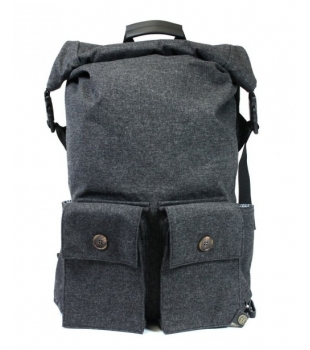 PKG DRI Rolltop Backpack Wool/Leather