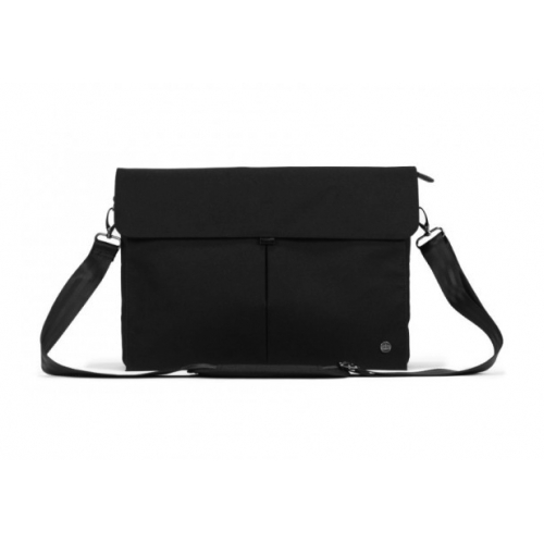 "PKG Yorkville Laptop Messenger 15/16"" Black"