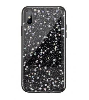 Obaly a púzdra iPhone Starfield iPhone X XS Black Star  0039b3524e7