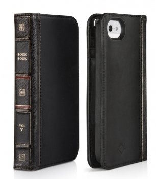 Twelve South BookBook for iPhone 5/5S/SE Black